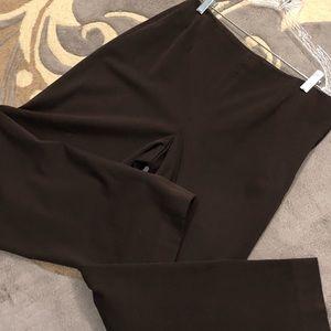 Talbots 10P bi-stretch brown pants